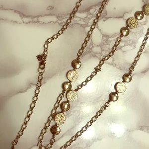 Banana Republic Gold Coin Necklace